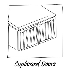 Cupboard CNC Doors